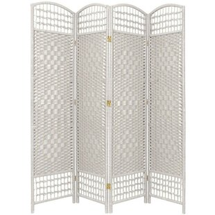 Bay Isle Home Stogner 4 Panel Room Divider