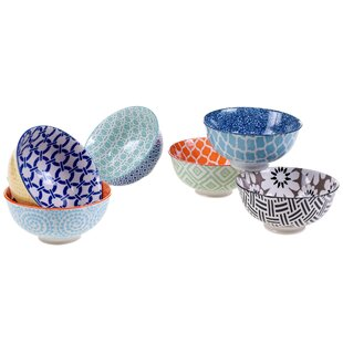 Hannan 10 oz Mix and Match Dining Bowl Set