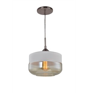 Woodbridge Lighting Fuse 1-Light Jar Pend..