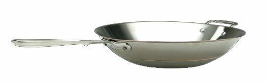 "Copper Core 14"" Open Stir Fry Pan"