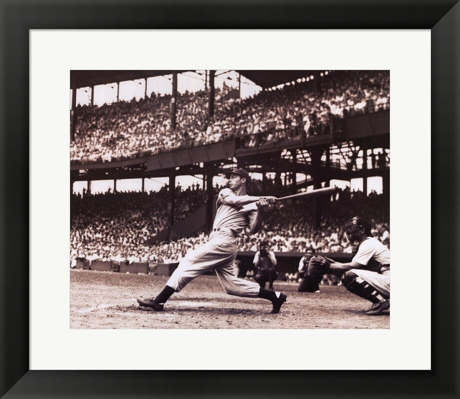 Joltin' Joe DiMaggio by Bettmann-Corbis Framed Photographic Print