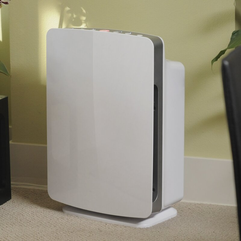 BreatheSmart Room HEPA Air Purifier with Silver Filter