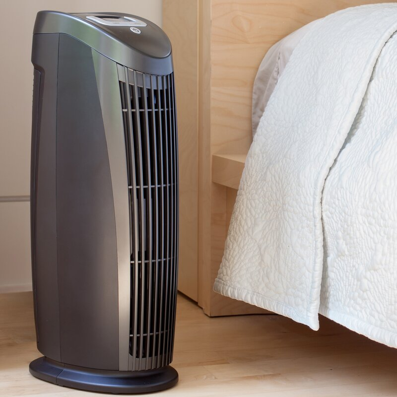 T500 Room HEPA Air Purifier with Silver Filter