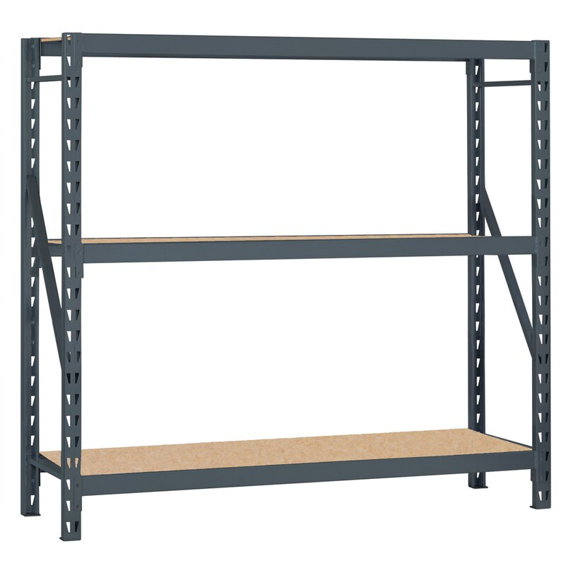 Bulk Storage Rack 3 Shelf Shelving Unit