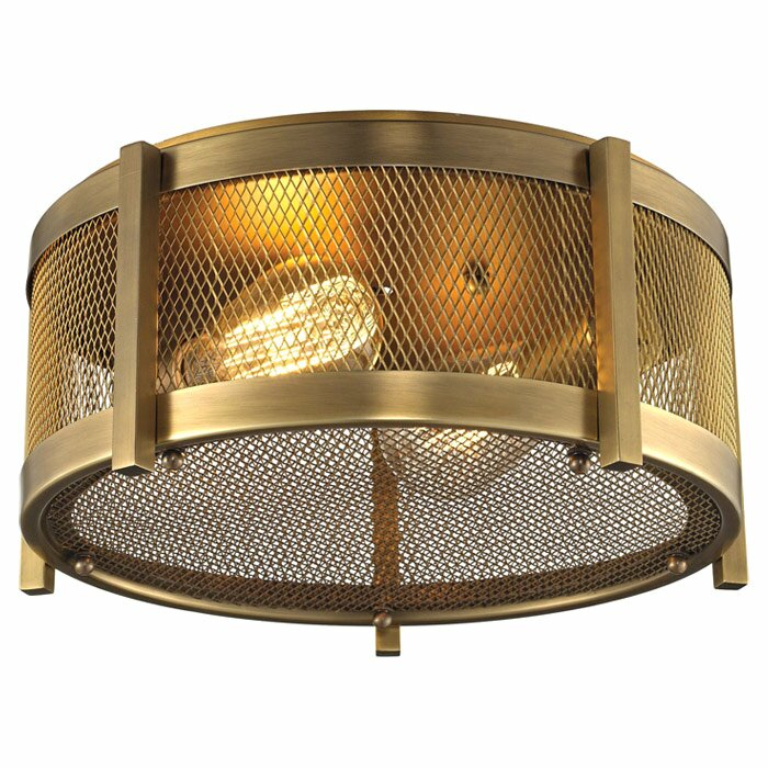 Goulds 2-Light Flush Mount