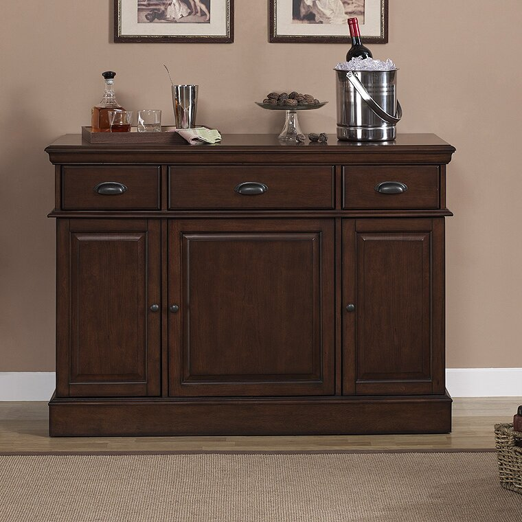 Gabriella Bar Cabinet with Wine Storage