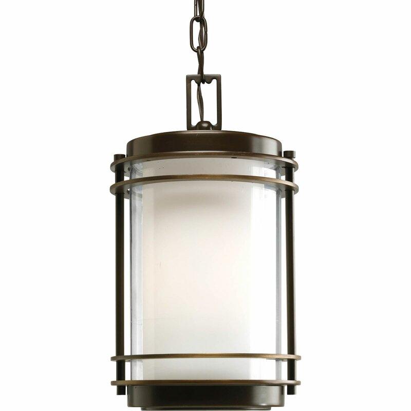 Triplehorn 1-Light Glass Pendant