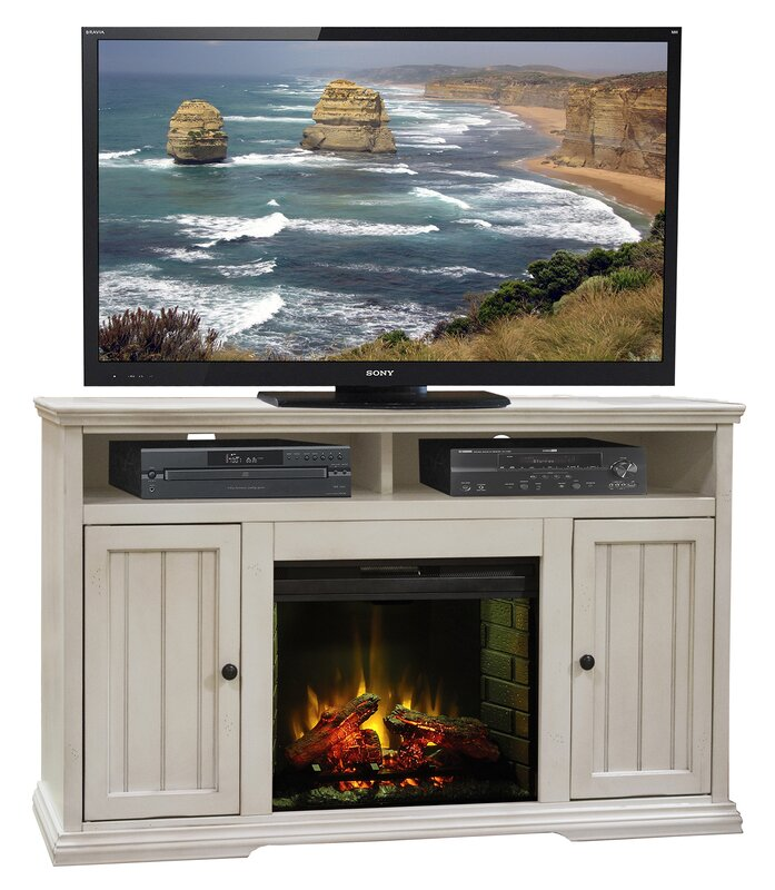 """Helene TV Stand for TVs up to 60"""" with Fireplace"""
