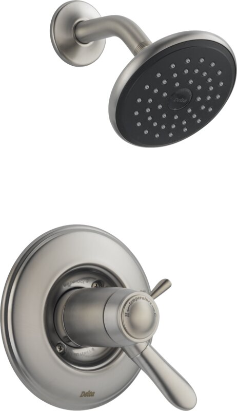Lahara Shower Faucet Trim with Lever Handles and TempAssure