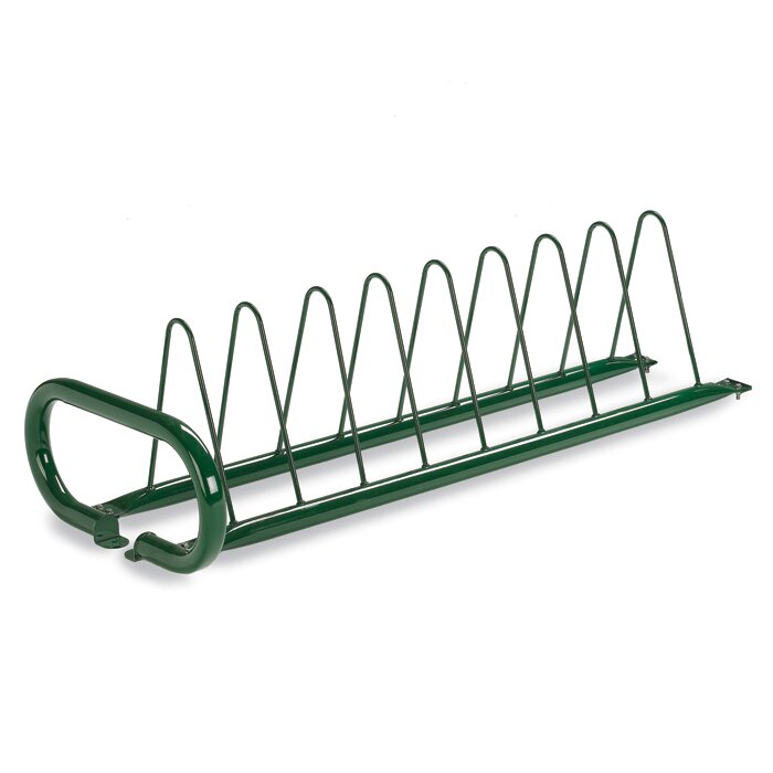 8 Bike Triangular Freestanding Bike Rack
