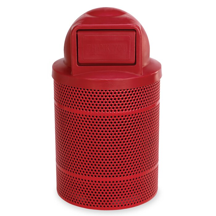 Rally Receptacle 32 Gallon Swing Top Trash Can