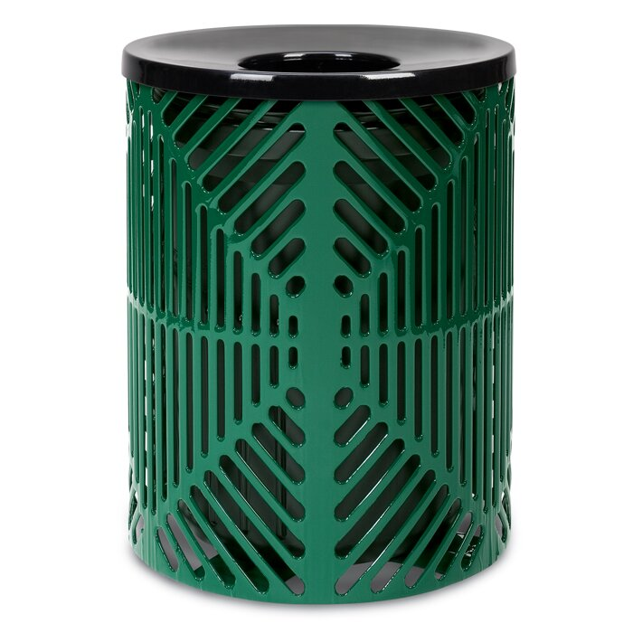 Reflections Receptacle 32 Gallon Trash Can
