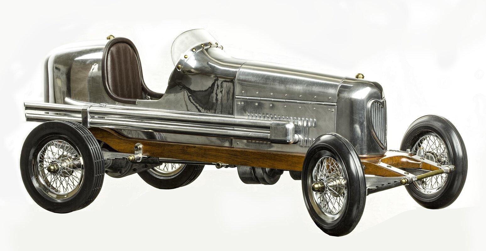 Museum Bantam Midget Racecar Sculpture