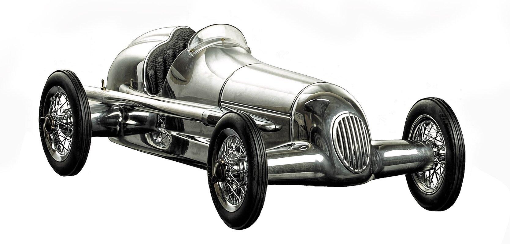 Museum Silberpfeil Indy Racer Sculpture