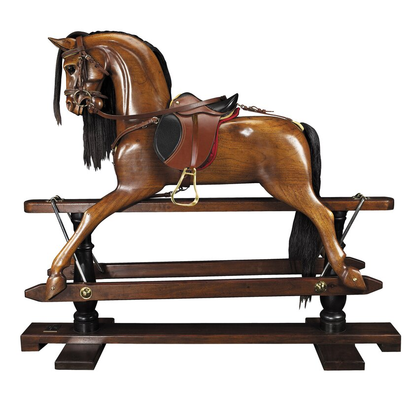 Museum Victorian Rocking Horse