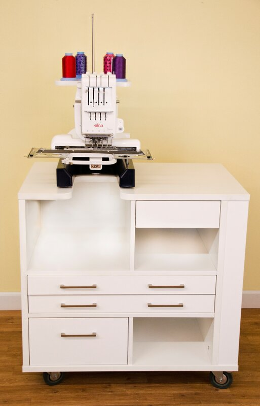 Ava Melamine Sewing Table