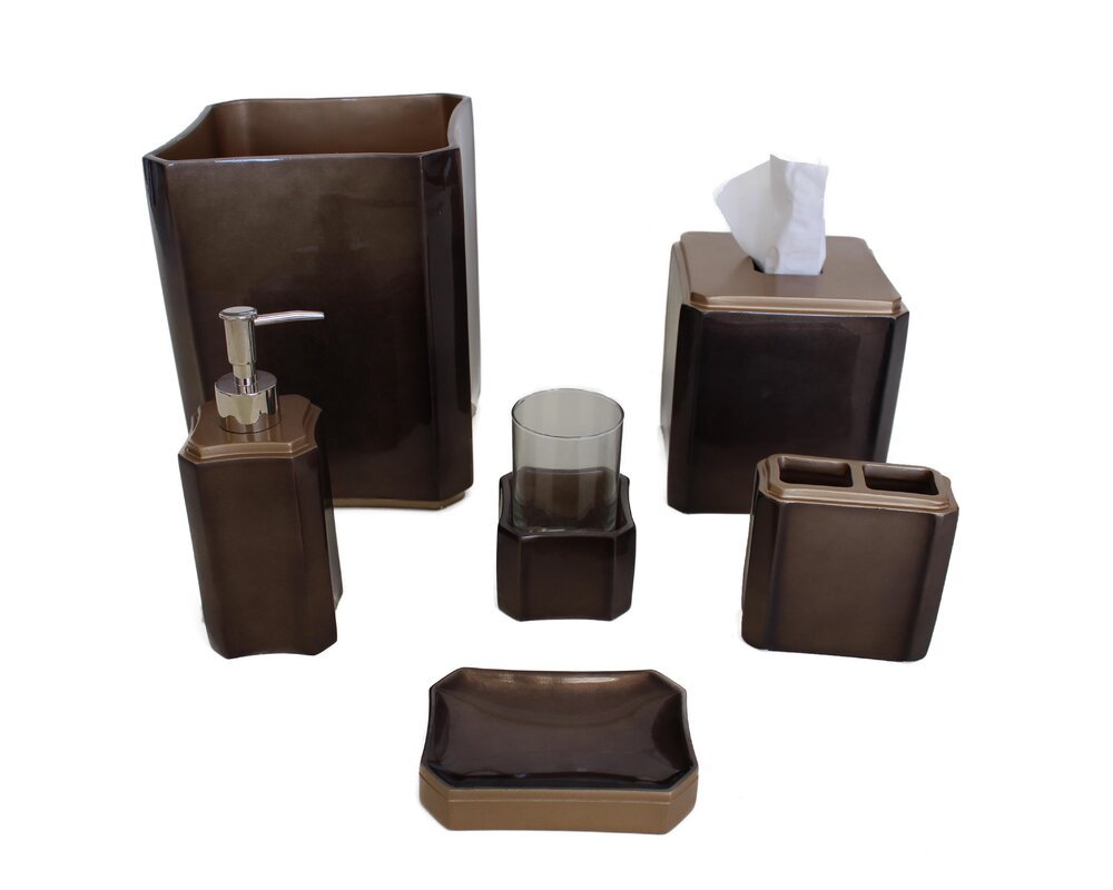 Essex 6-Piece Bathroom Accessory Set
