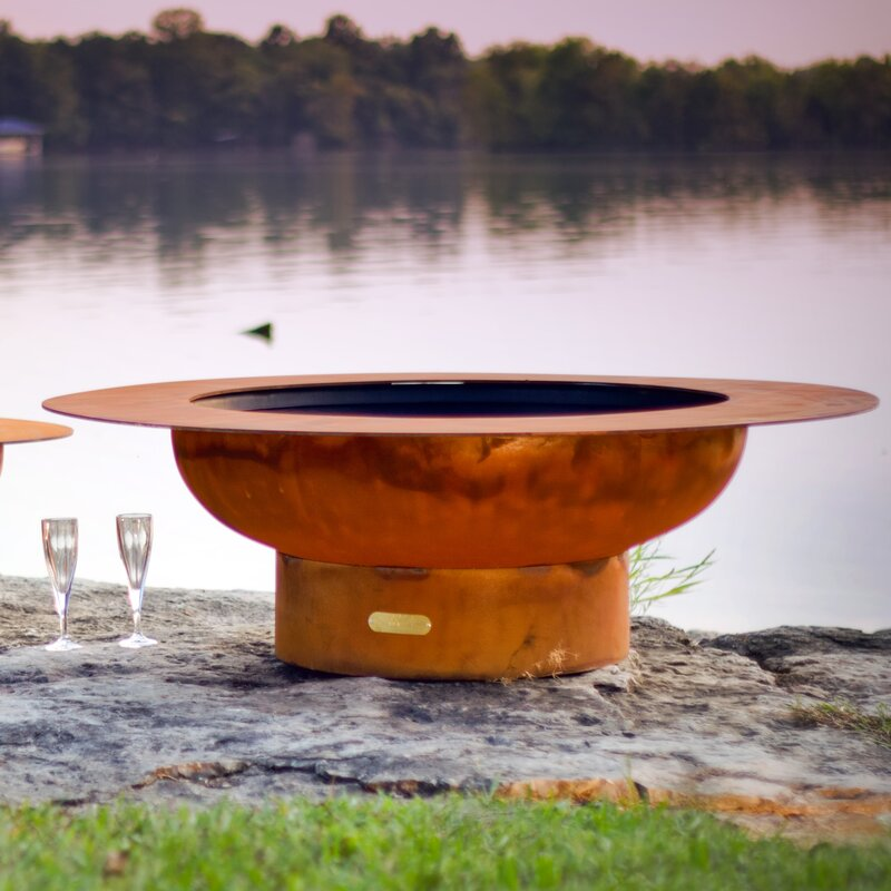 Magnum Steel Wood Burning Fire Pit Table