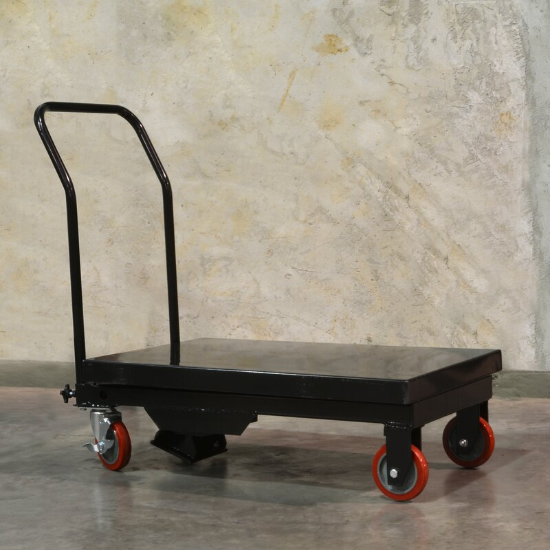 660 lb. Capacity Bull Hydraulic Platform Dolly