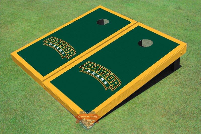 NCAA Matching Border Cornhole Board (Set of 2)