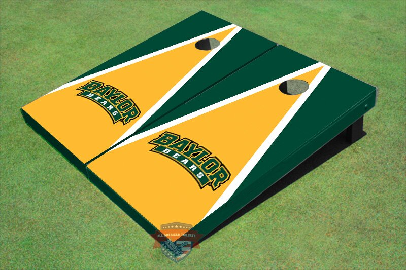 NCAA Matching Triangle Cornhole Board (Set of 2)