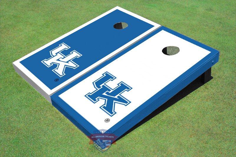 NCAA Alternating Border Cornhole Board (Set of 2)