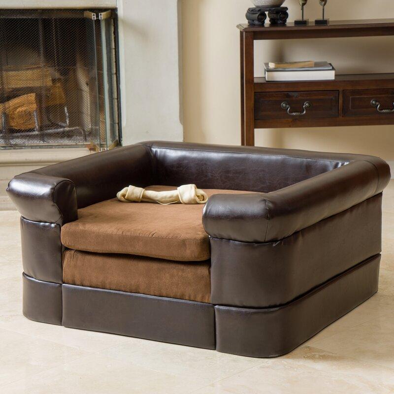 Deon Square Cushy Dog Sofa