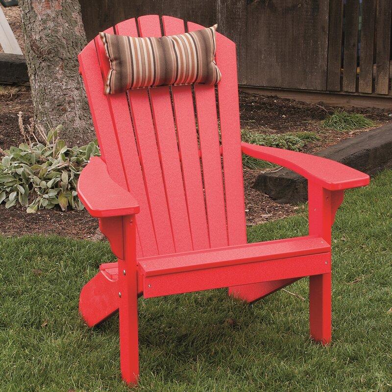 Analia Plastic Adirondack Chair