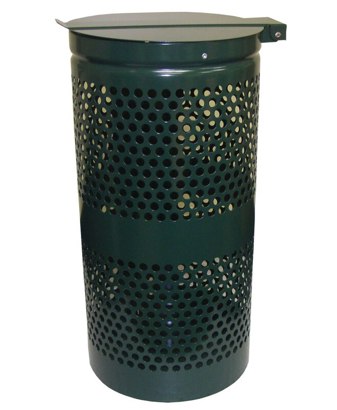 Receptacle 10 Gallon Trash Can