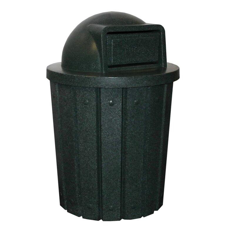 Signature Receptacle 42 Gallon Swing Top Trash Can
