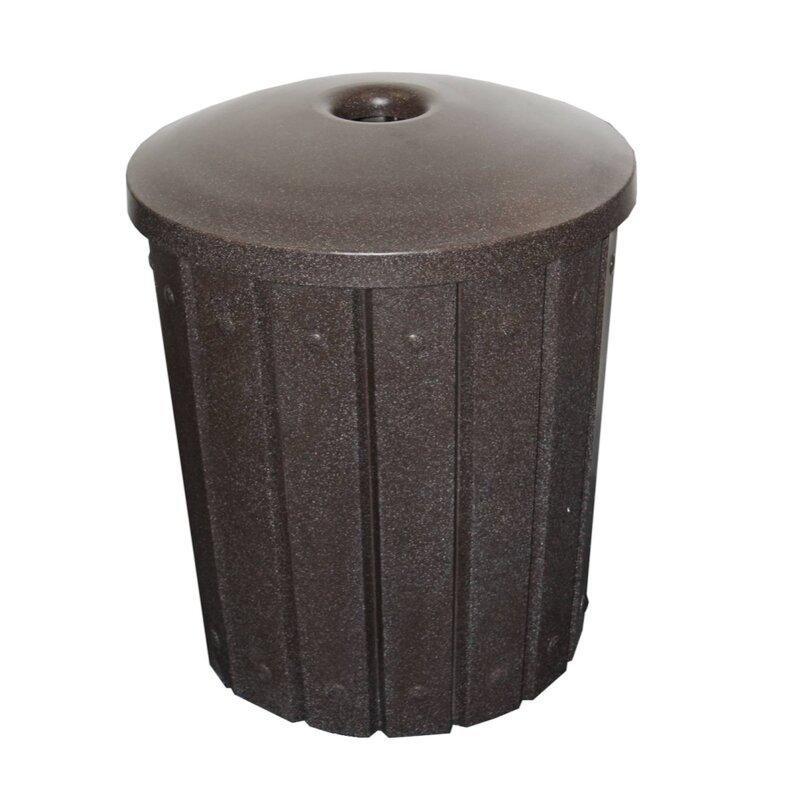 Signature Receptacle 42 Gallon Trash Can