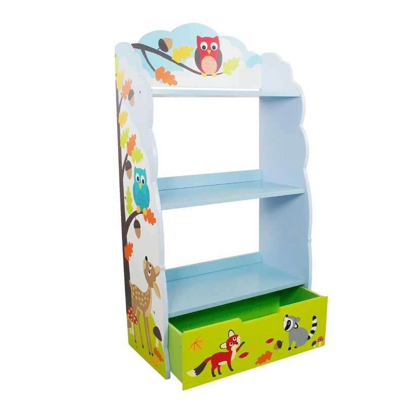"Enchanted Woodland Children's 41.75"" Bookshelf"
