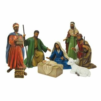 Nativity 7 Piece Nativity Set