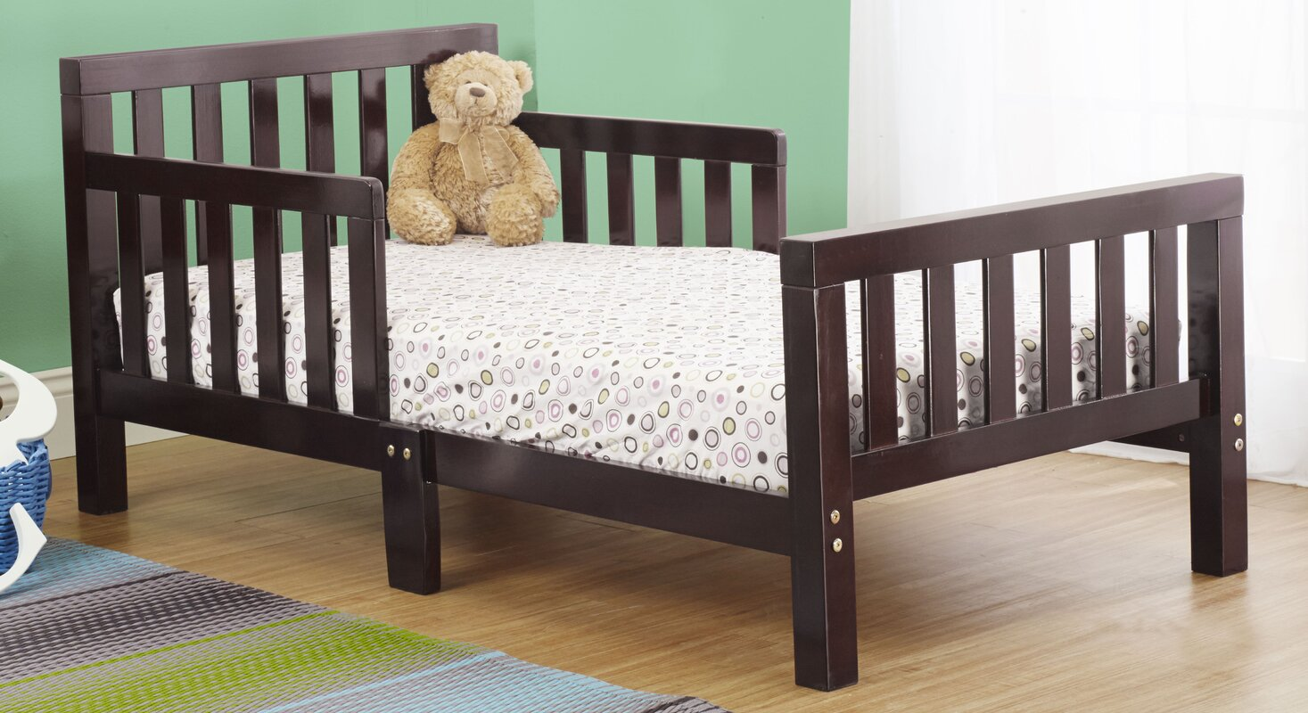 Extra Thick Convertible Toddler Bed