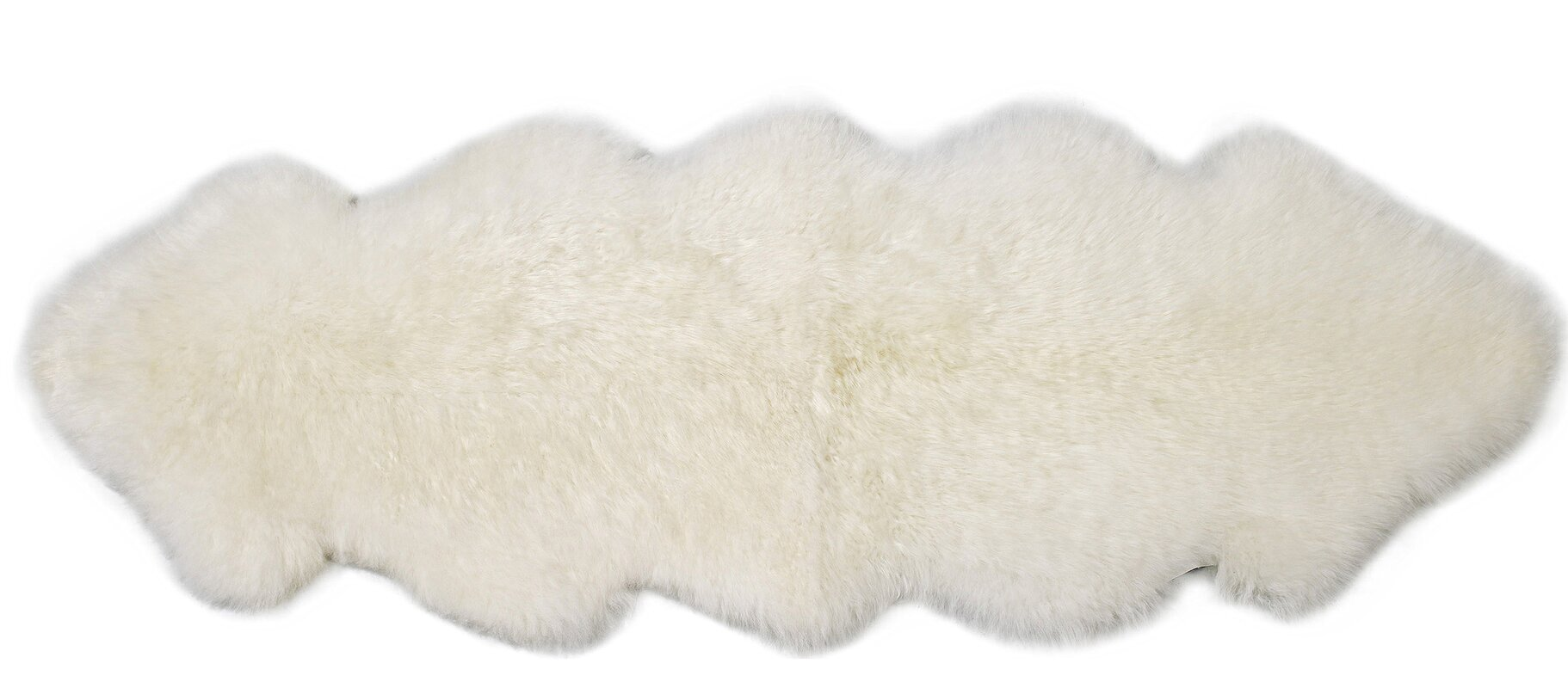 Double Pelt Ivory Area Rug