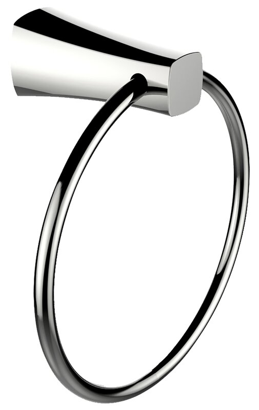 Brass Constructed Towel Ring