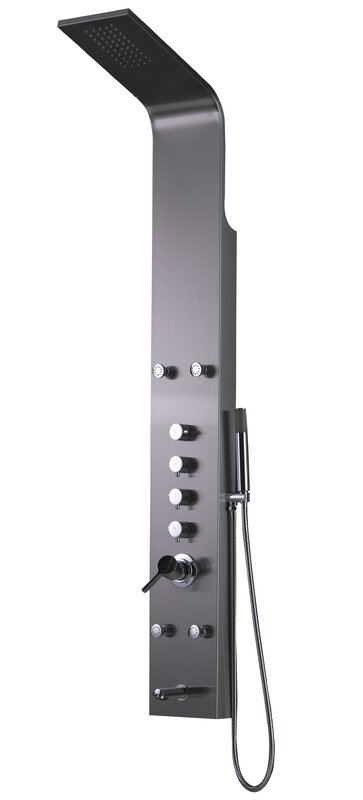 Shower Panel Diverter/Thermostatic