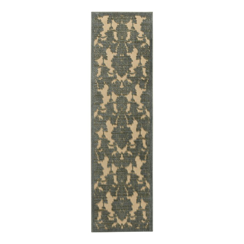 Castle Heights Teal Area Rug