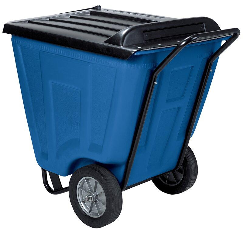 60 Gallon Curbside Trash & Recycling Bin