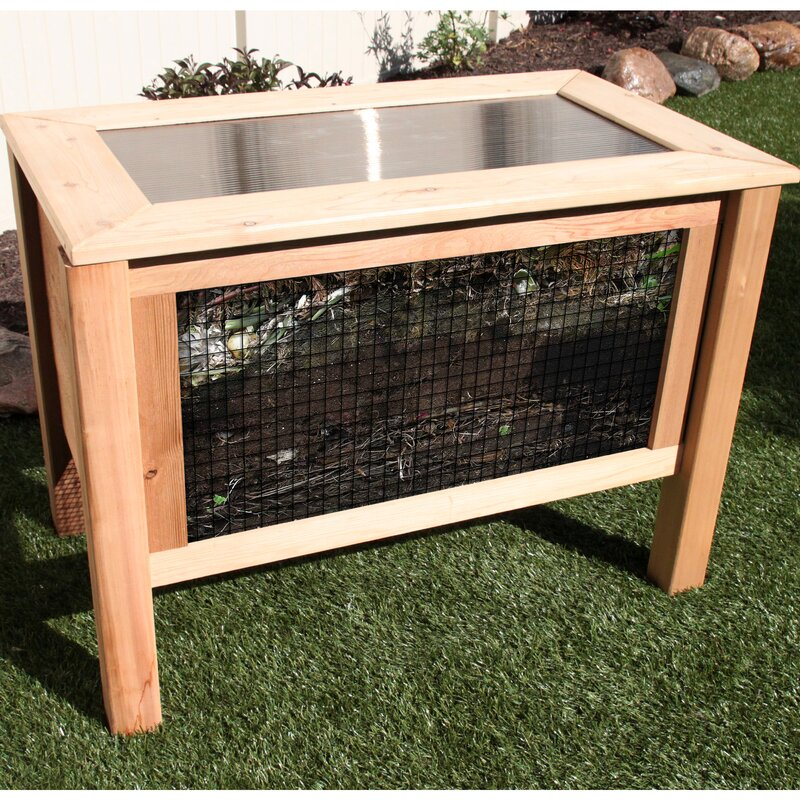9 cu. ft. Stationary Composter