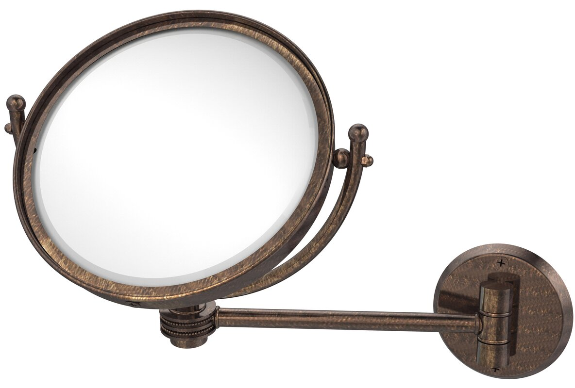 Wall Mounted Modern & Contemporary Magnifying Make-Up Mirror