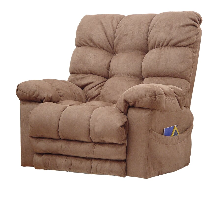 Magnum Chaise Reclining Heated Massage Chair with Ottoman