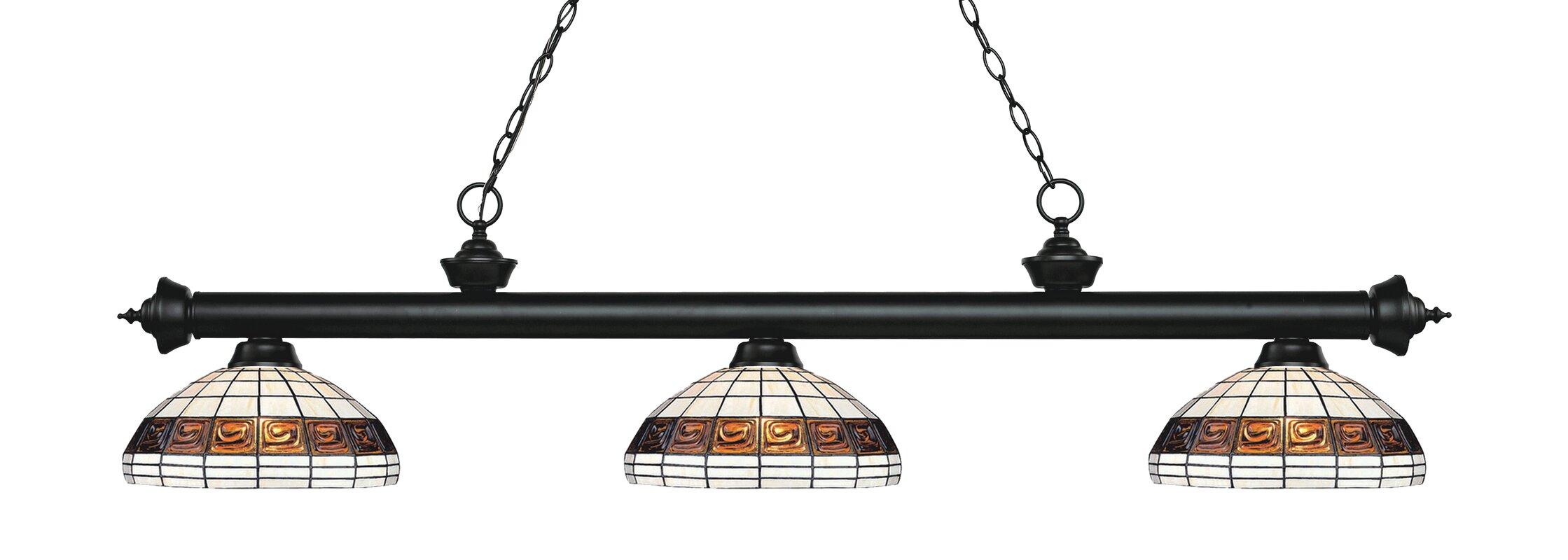 Billington 3-Light Pool Table Lights Pendant