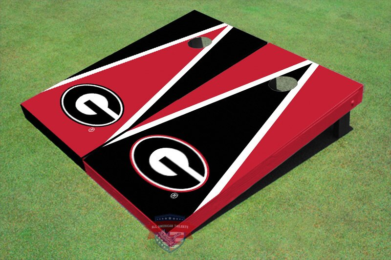"NCAA ""G"" Triangle Cornhole Board (Set of 2)"