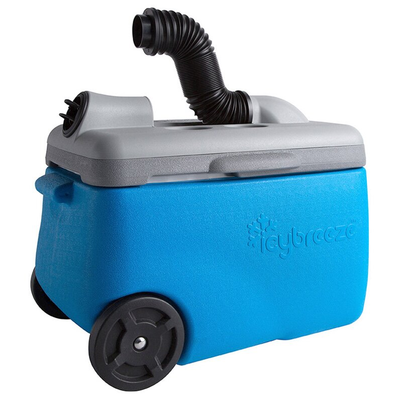 38 Qt. Portable Air Conditioner & Cooler Whiteout