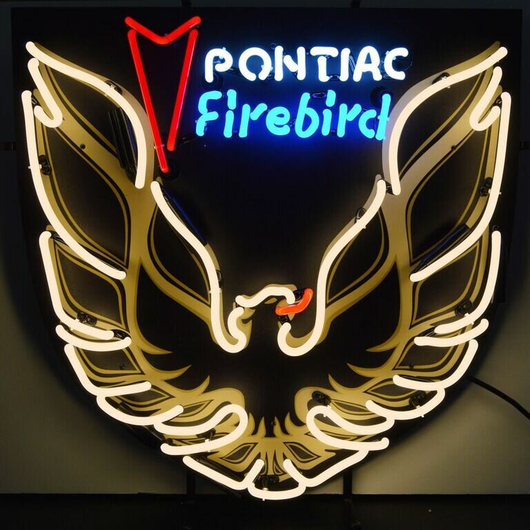 Pontiac Firebird Neon Sign