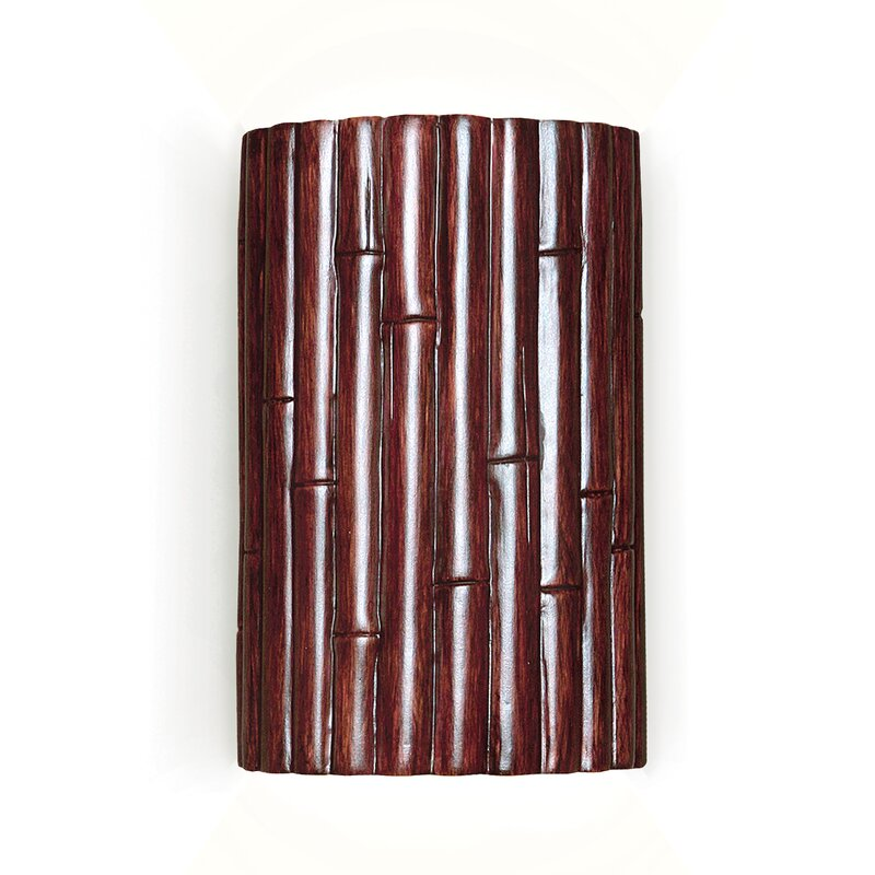 Nature Bamboo 1-Light Flush Mount