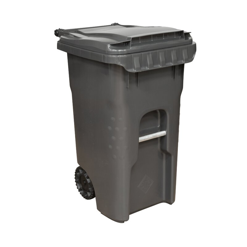 Heavy Duty Rollout Curbside Trash & Recycling Bin