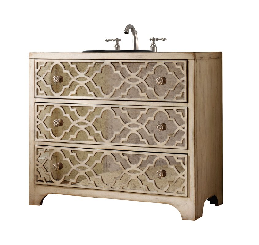 "Designer Series 36"" Grace Hall Bathroom Vanity Chest Base Only"