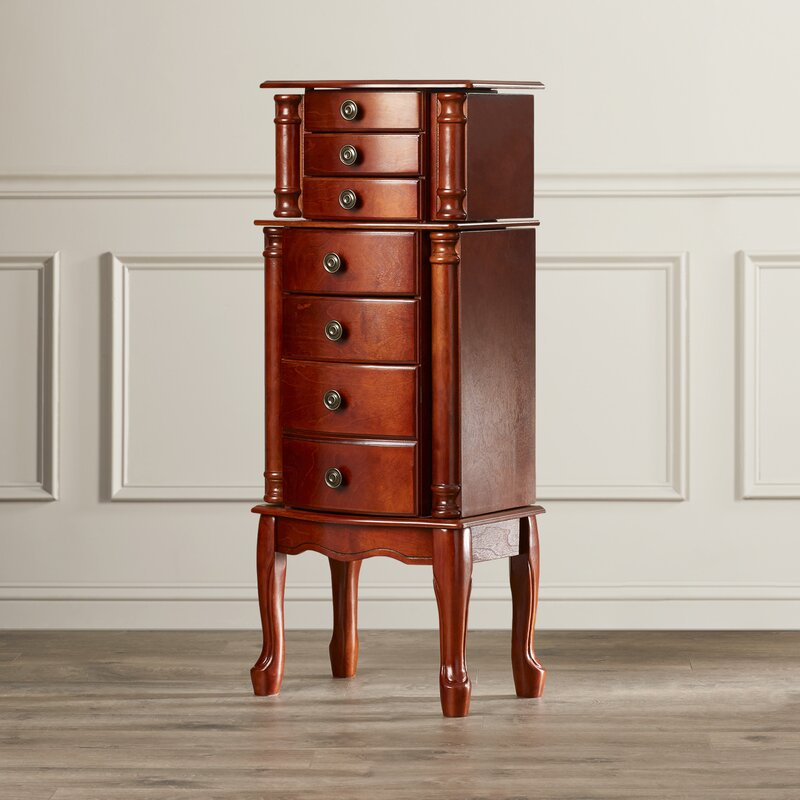 Redfern Jewelry Armoire with Mirror